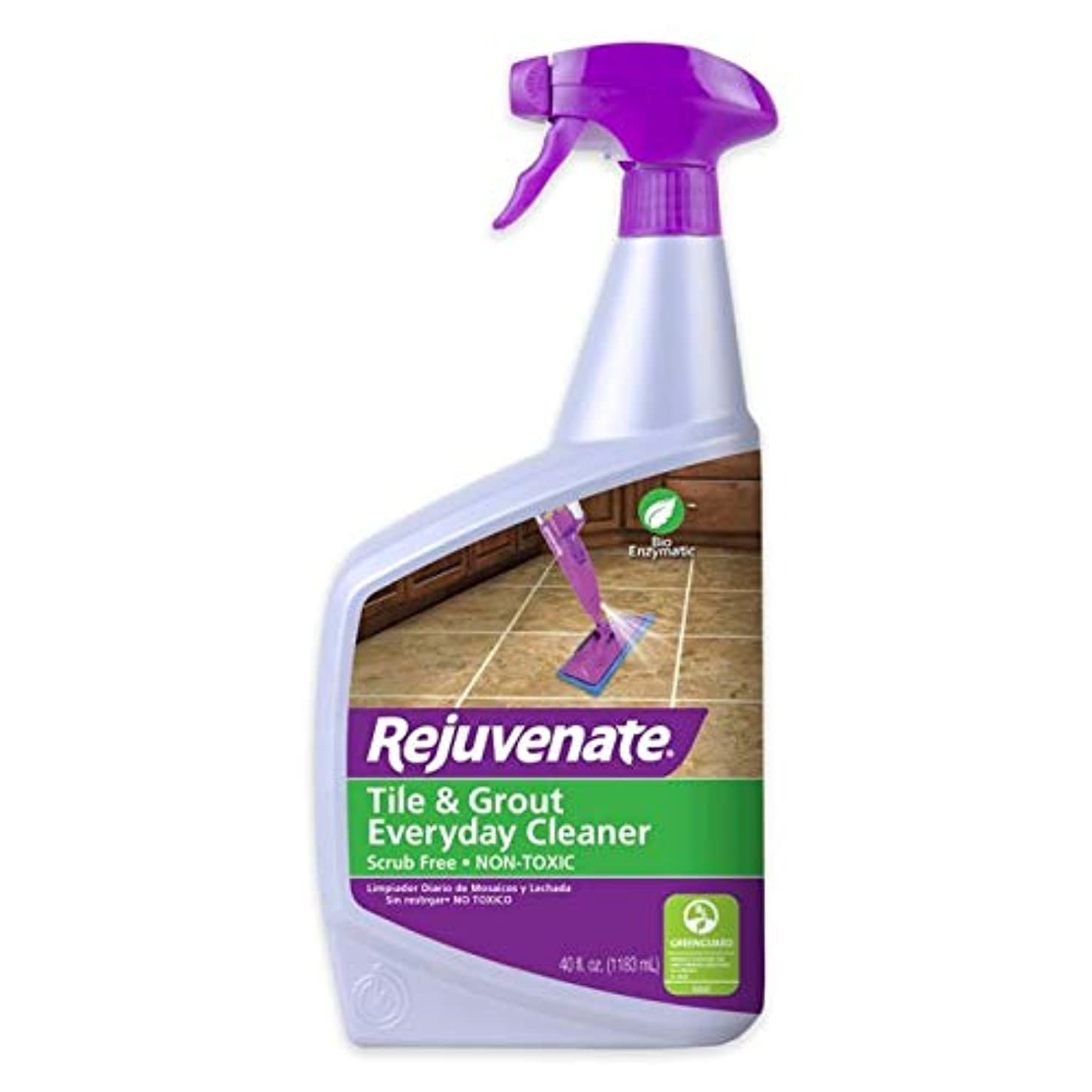 Rejuvenate Everyday Tile & Grout Cleaner, Perfect for Cleaning Ceramic Tile Floors and Shower Grout