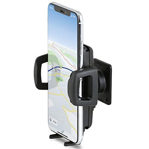 Wicked Chili Armaturenbrett Halterung kompatibel mit iPhone 11 Pro Max, Samsung Galaxy S20 Ultra, Honor 30 Pro+ HUAWEI P40 Pro+ und XXL Handy ab 6 Zoll (max. Breite 86 mm, Made in Germany, schraubbar)