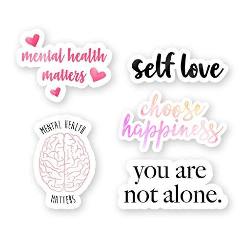 """Mental Health Sticker Pack - 3"""" Vinyl Stickers"""