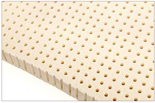 Ultimate Sleep 2 Inch 100% Natural Latex Foam Mattress Pad Topper, Queen