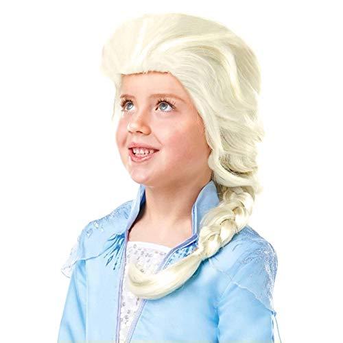 Frozen 2 Parrucca Elsa, Multicolore, (Rubie'S 300471)