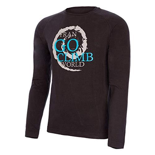 Trangoworld Furo T-Shirt Homme, Noir/Onyx, XS