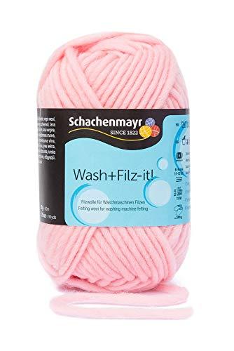 Schachenmayr Filzgarne Wash+Filz-it!, 50g rosa