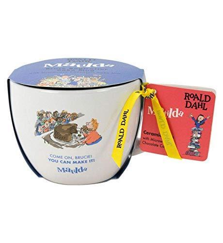 Roald Dahl Cake in A Mug Novelty Gift Set | Bake a Cake in 3 Minutes - Dishwasher & Microwave Safe