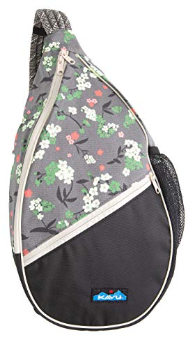 KAVU Paxton Pack Rope Sling Crossbody Bag - Forest Blossom