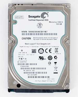 Seagate Momentus 5400.6 500GB (ST9500325AS) 2.5