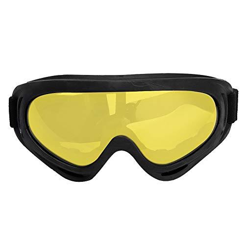 Motorbril, brilbekledingsmasker, winddichte zonnebril, wielrennen, anti-condens-tactische bril voor CS-Sneeuwscooteren in de buitenlucht default #2 Googles