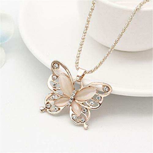 (Cheap) Butterfly Necklace Pendant $1.90 Deal