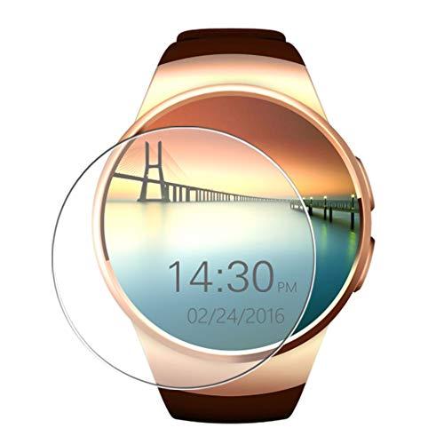 Vaxson 3 Stück Schutzfolie, kompatibel mit Evershop Keoker K18 KW18 Smartwatch 1.3' Smart Watch, Displayschutzfolie TPU Folie [nicht Panzerglas]