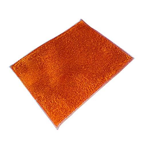 Aiweijia Paño de Limpieza de Microfibra, Paquete de 5 paños de Limpieza, Tamaño: 16x18cm, 18x23cm, 20x30cm, 30x27cm
