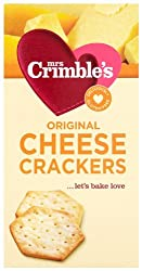 Cheese flavoured gluten free crackers Crispy and crunchy Baked not fried Gluten Free High in Omega 3