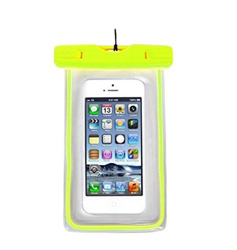 Demarkt Bolsa Impermeable Funda Bolsa Móvil Impermeable Universal Certificado Móvil Transparente Sensible al Tacto para ipad mini Teléfono Teléfono Inteligente