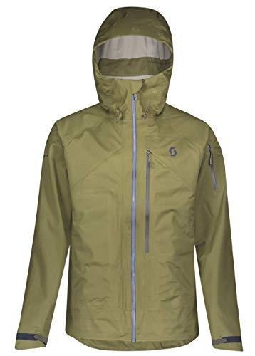 Scott M Explorair 3L Jacket Grün, Herren Dermizax™ Jacke, Größe L - Farbe Green Moss