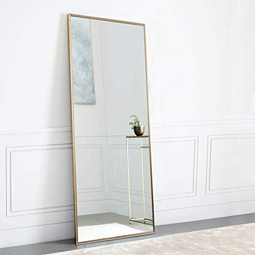 NeuType Full Length Mirror Standing Hanging or Leaning Against Wall, Large...