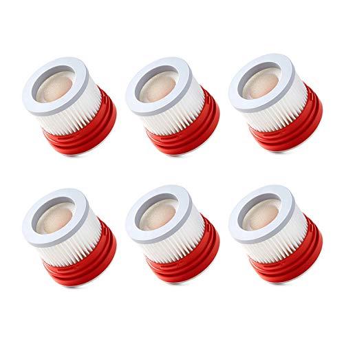 WuYan 6pcs hepa filtro conjunto de accesorios de repuesto para Xiaomi Dreame V8 V9 V9B V9P XR V10 V11 Piezas de aspiradora de mano sin mangas