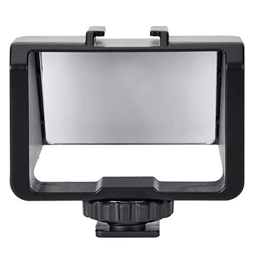 Selfie Flip Screen Bracket, Portable Camera Vlog Selfie Flip Screen para Cámaras Sony/Fuji/Nikon/Canon sin Espejo, Compatibilidad Fuerte, con Diseño de Montaje en Zapata Fría