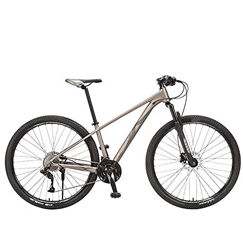 KJWXSGMM Erwachsene Mountainbike, 29-Zoll-Räder Erwachsene Fahrrad, 27-Gang / 30-Gang-Fahrrad Für Männer Und Frauen, MTB-Fahrrad Mit Scheibenbremse-Federgabel,A,27 Speed