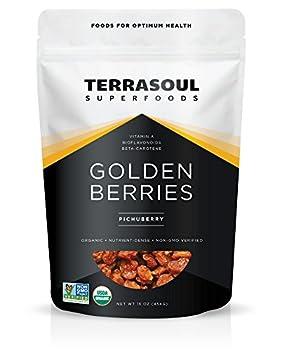 Terrasoul Superfoods Organic Golden Berries 16 ounces