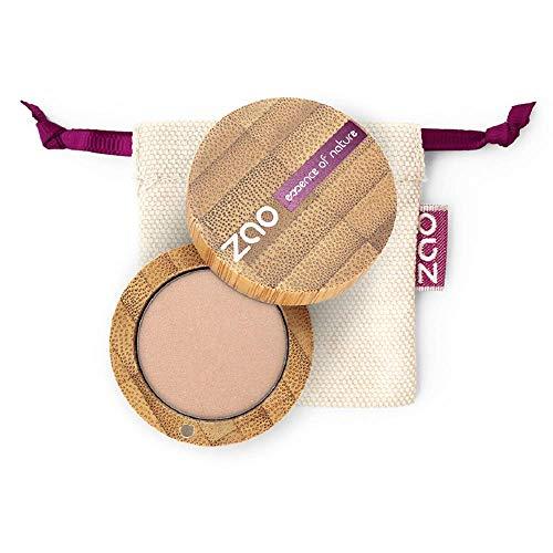 ZAO Pearly Eyeshadow 105 sandgold beige Lidschatten schimmernd / Perlglanz in nachfüllbarer Bambus-Dose