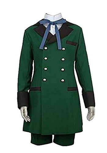 Fuman Black Butler Ciel Phantomhive Cosplay Kostüm Grün Anzug XXXL