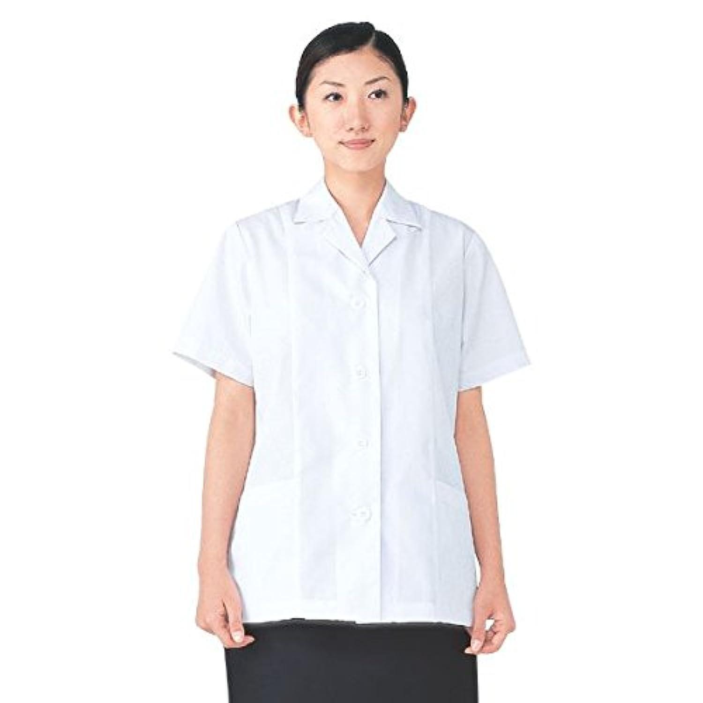 指定する姓近傍workfriend 調理用白衣女子衿付半袖 SKA337 LLサイズ