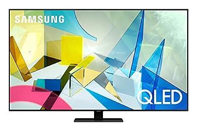 SAMSUNG 75-inch Class QLED Q80T Series - 4K UHD Direct Full Array 12X Quantum HDR 12X Smart TV with Alexa Built-in (QN75Q80TAFXZA, 2020 Model)