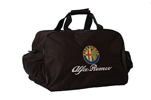 Alfa Romeo Logo Sporttasche Leichte Seesack Reisegepaeck Duffel Wochenende Uebernachtung Taschen fuer Reisen Sport Gym Urlaub