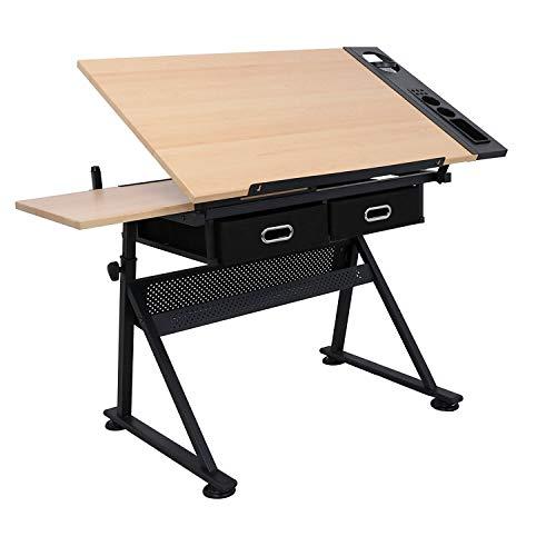 Mesa de dibujo ajustable Display4Top para dibujar en casa y en la oficina