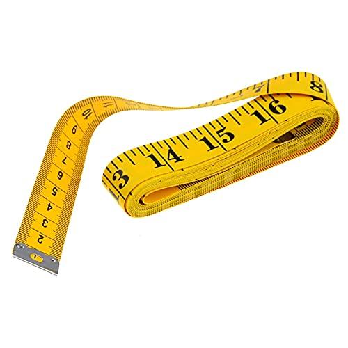 DNAMAZ 1 UNID Útil Útil de medición de la Regla de Costura Cinta de Sastre Medida Suave 2M Costura Regla Medidor Cosa Cinta métrica