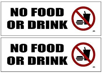 no food allowed