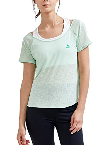 Craft Camiseta para mujer Core Charge Cross Back Xylitol, L