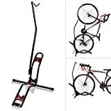 Vertikal Fahrradparkständer, Multifunktionsgegenspann Bike Garage Gestell Für Indoor Gebirgsstraßen-Fahrrad-Reparatur-Werkzeug Load Bearing 66 Lbs
