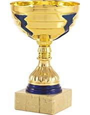 art-trophies AT81186 Trofee Sport, goud/blauw, eenheidsmaat