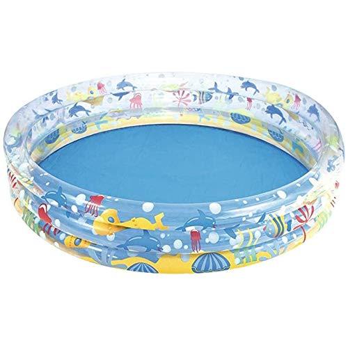 TYUIOO Piscina Inflable para bebé Inflable de jardín, niño Inflable portátil/niños Piscina de la Bomba pequeña, Kiddie Pool Pool Interior y outdoortoddler Agua Juego de Juegos para niños/niña/mu