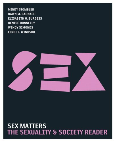 Sex Matters: The Sexuality and Society Reader