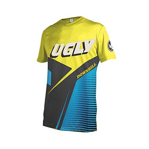 Uglyfrog 2018 New Bike Wear Herren Downhill/MTB Jersey Mountain Motorrad Kleidung Fahrradtrikot Kurzarm Freeride BMX Top