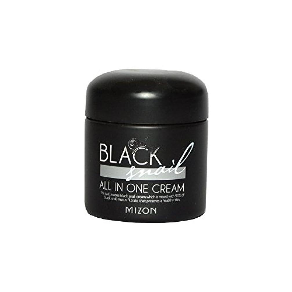 血メトリック忘れられないMizon Black Snail All in One Cream (Pack of 6) - 黒カタツムリオールインワンクリーム x6 [並行輸入品]