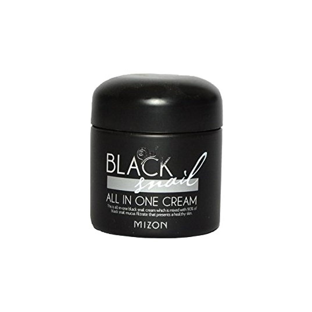 ドックディレクター何十人もMizon Black Snail All in One Cream (Pack of 6) - 黒カタツムリオールインワンクリーム x6 [並行輸入品]