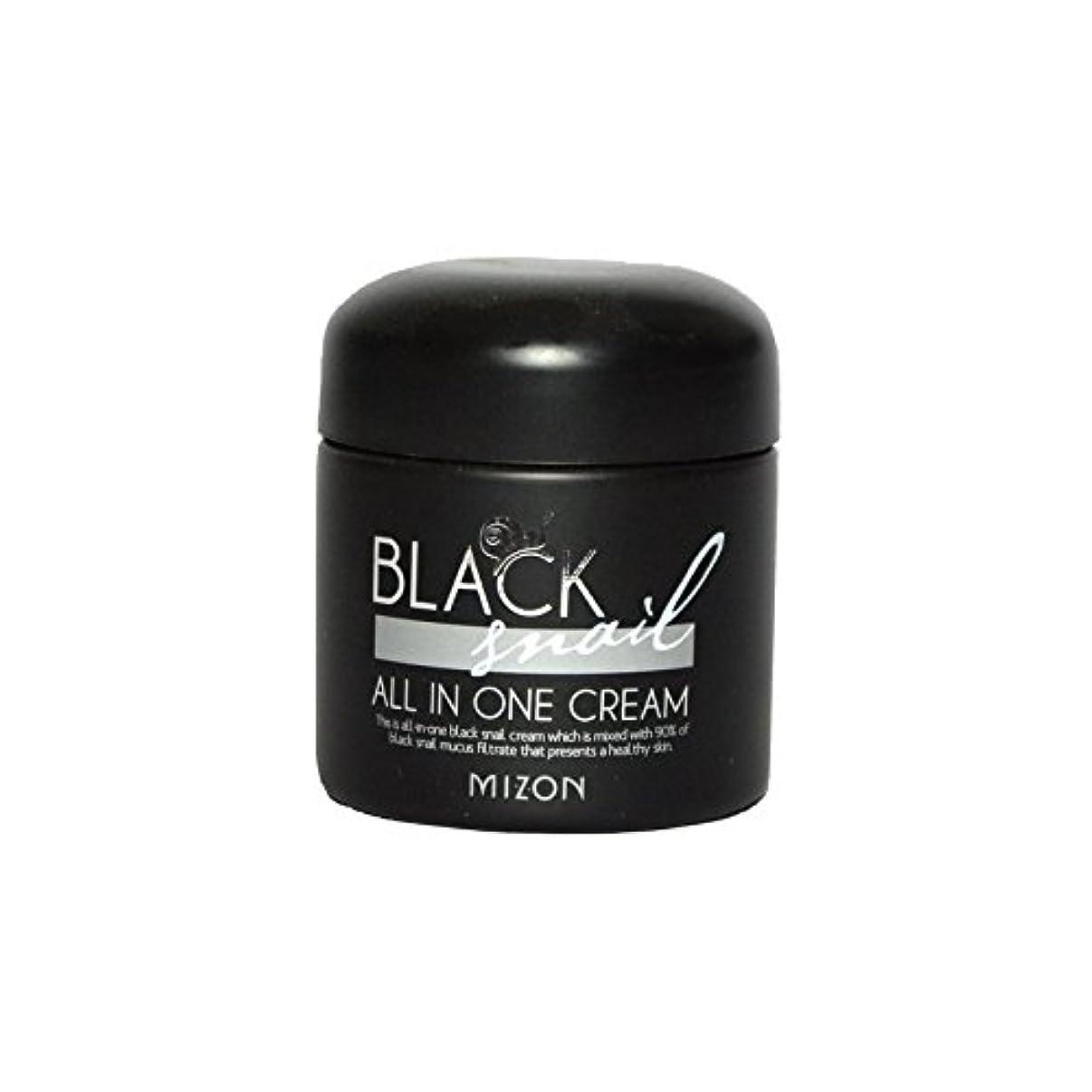 マートサラミ必要とするMizon Black Snail All in One Cream - 黒カタツムリオールインワンクリーム [並行輸入品]