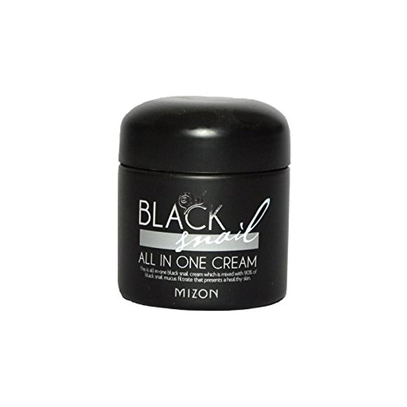 孤児保安用量黒カタツムリオールインワンクリーム x4 - Mizon Black Snail All in One Cream (Pack of 4) [並行輸入品]