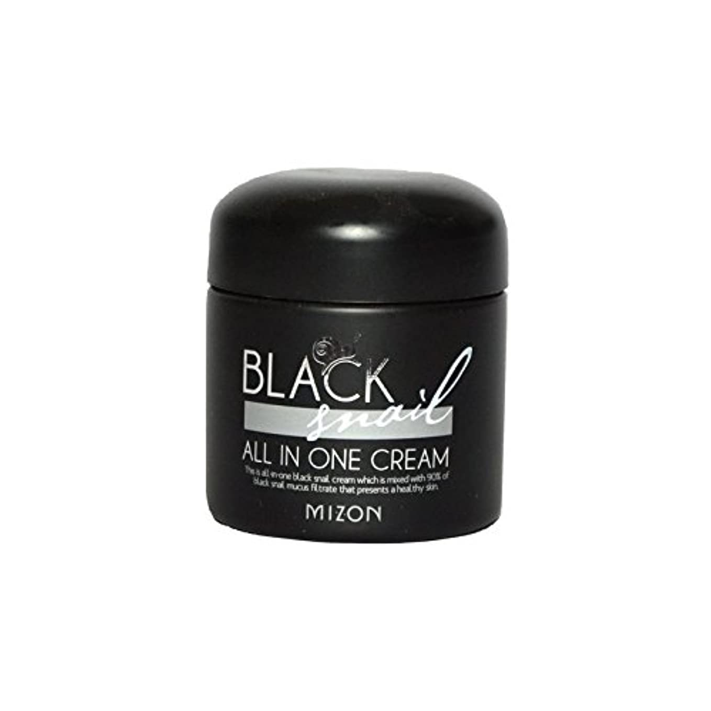 幻影滅びる急勾配のMizon Black Snail All in One Cream - 黒カタツムリオールインワンクリーム [並行輸入品]