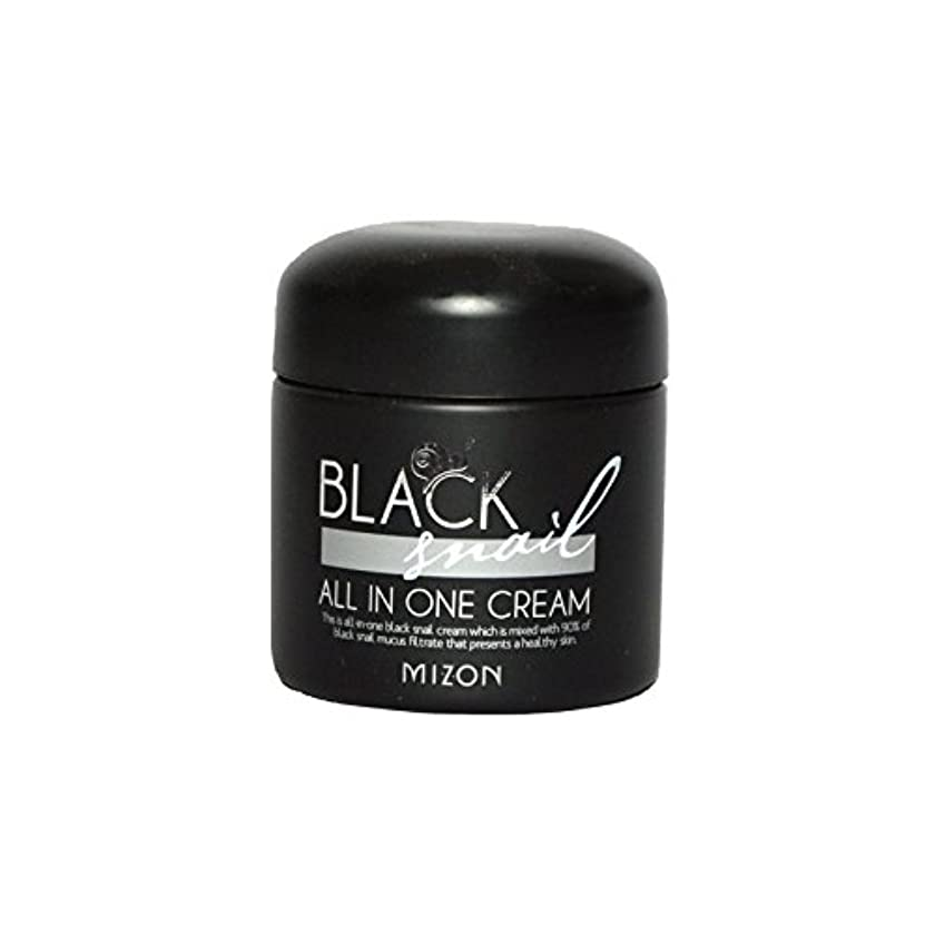 エスカレーター小屋ライオン黒カタツムリオールインワンクリーム x2 - Mizon Black Snail All in One Cream (Pack of 2) [並行輸入品]