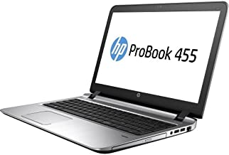 HP 455 G3 W4E07UT#ABA 15.6-Inch Laptop ProBook 1.80 GHz AMD A10-Series,A10-8700P 16 GB RAM,1 TB Hard Drive, Windows 10