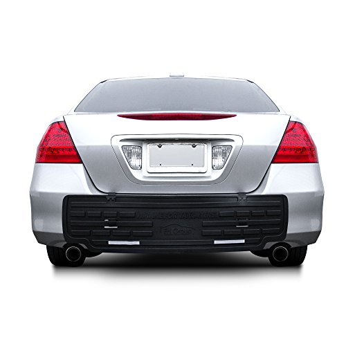 FH Group F16408 F16408BLACK Universal Fit Rear BumperButler Bumper Guard...