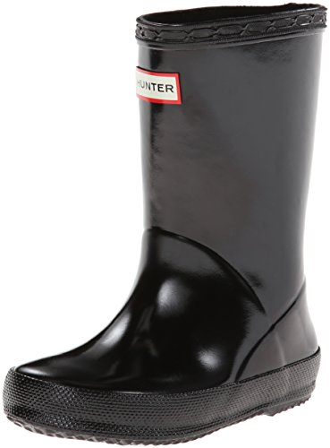 HUNTER Unisex Baby Kids First Gloss (Toddler/Youth) - Black - 5 Infant