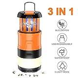 Sahara Sailor Bug Zapper Camping Lantern, 3 in 1 Electric Bug Zapper Led Lantern-Mosquito Killer...
