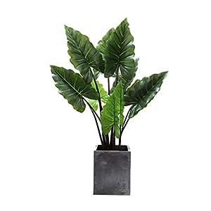 QUD Handmade Artificial Silk Bird of Paradise Tree Potted Plant, Large-Scale Landing Bonsai Flower Arrangement Home Decoration, No Basin 20/4/3 (Size : L)