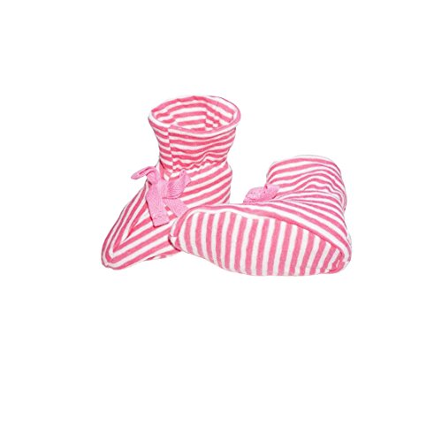 CuteOn Unisexe Bébé Chaussettes Coton Chaussettes pour Nouveau née/Bébé Enfant Bambin Rose Rouge 0-9 Mois