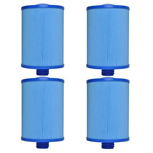 LZH FILTER Elemento de Filtro de Piscina (4 Piezas), Filtro de Acuario SPA Jacuzzi, Reemplazo de Filtro de Hidromasaje