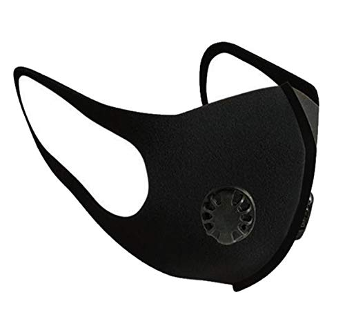 1 STÜCKE N95 Mund Staubschutzmaske Falten Schutzmaske Hängen Ohr Einzelstück mit Ausatemventil Filter
